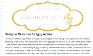 Designer Dresses for Iggy Azaela